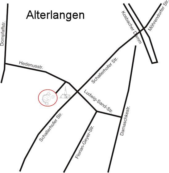 Lageplan detaillierter