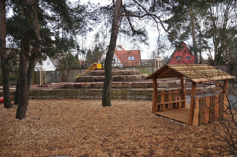 Kindergarten Außenanlage